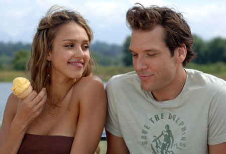 Jessica Alba with Dane Cook in