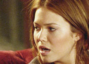 "Mandy Moore looking surprised in ""Because I Said So"""