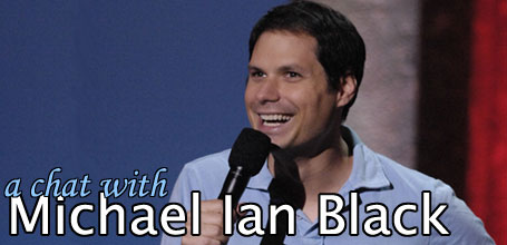 A chat with Michael Ian Black